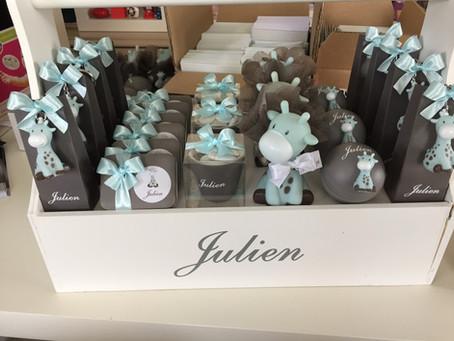 Girafkes voor Julien