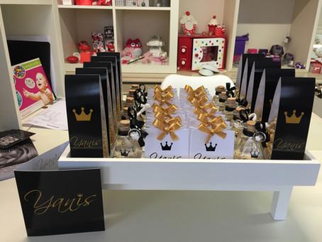 Mooie goud/zwart combinatie voor Yanis!