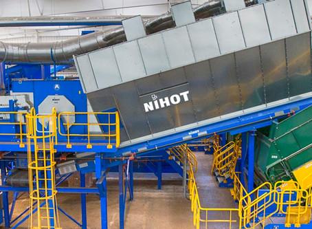 Nihot SDS windshifter (Single Drum Separator)