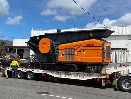 First Doppstadt Methor has arrived in Australia