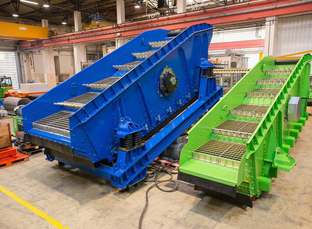 IFE VARIOMAT - doubledeck screen for the recycling industry