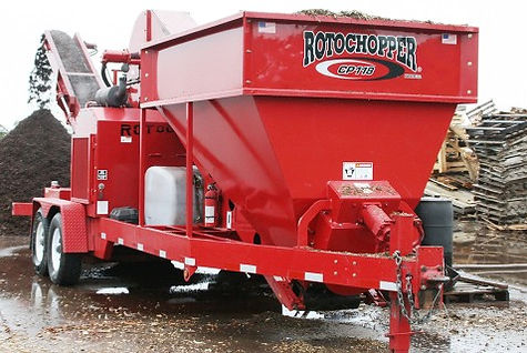 CP118 Rotochopper Chip Processor