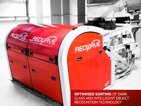 REDWAVE CX: Enhanced Technology for dark glass recovery!