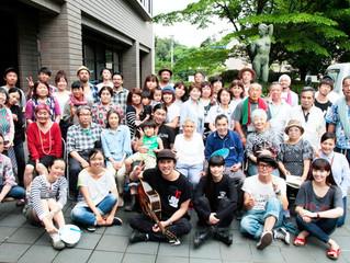 Love For Nipponの熊本での活動を撮影しました