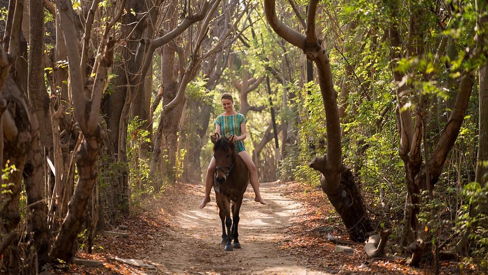 Horse riding on Gili Trawangan, Lombok