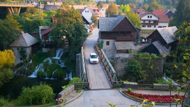 The waterfall village of Rastoke