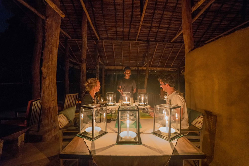 Candle Light Dinner at Tree Tops Jungle Lodge