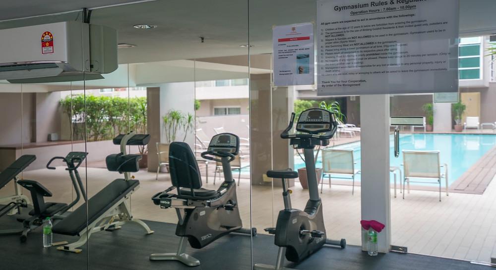 Airbnb Kuala Lumpur Gym