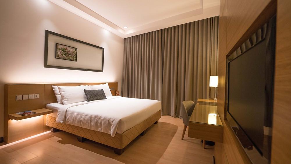 Ansa Hotel bedroom