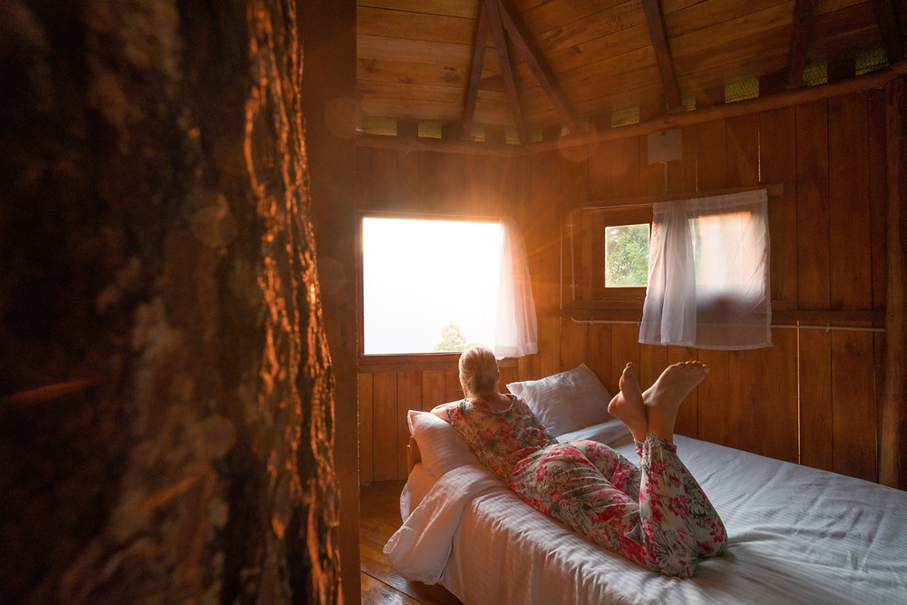 Beds in the Treehouse Sri Lanka