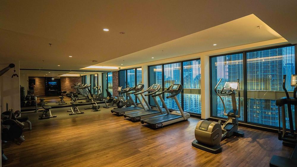 Hotel Stripes KUL Fitness gym