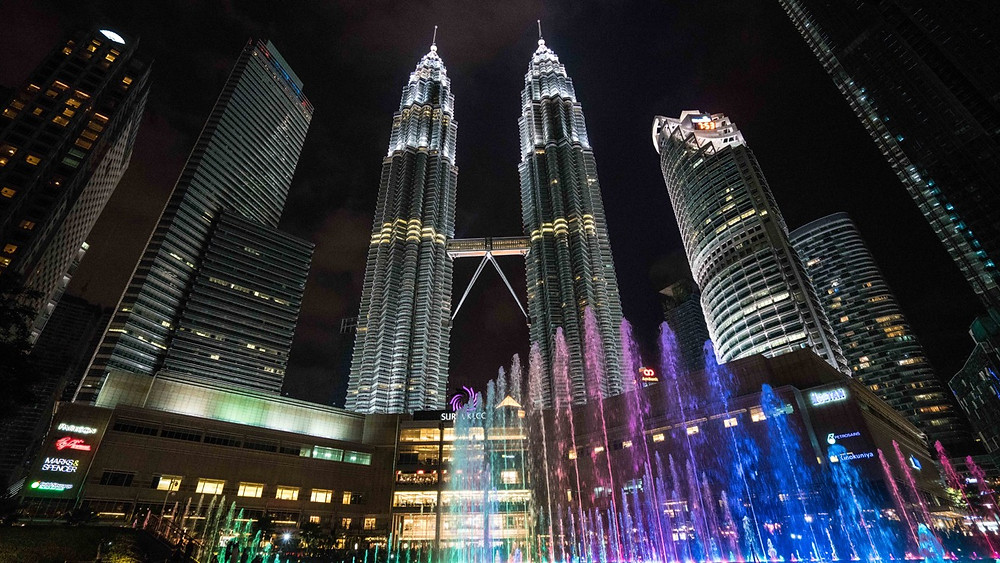 Petronas Twin towers just a short walk away from the Airbnb