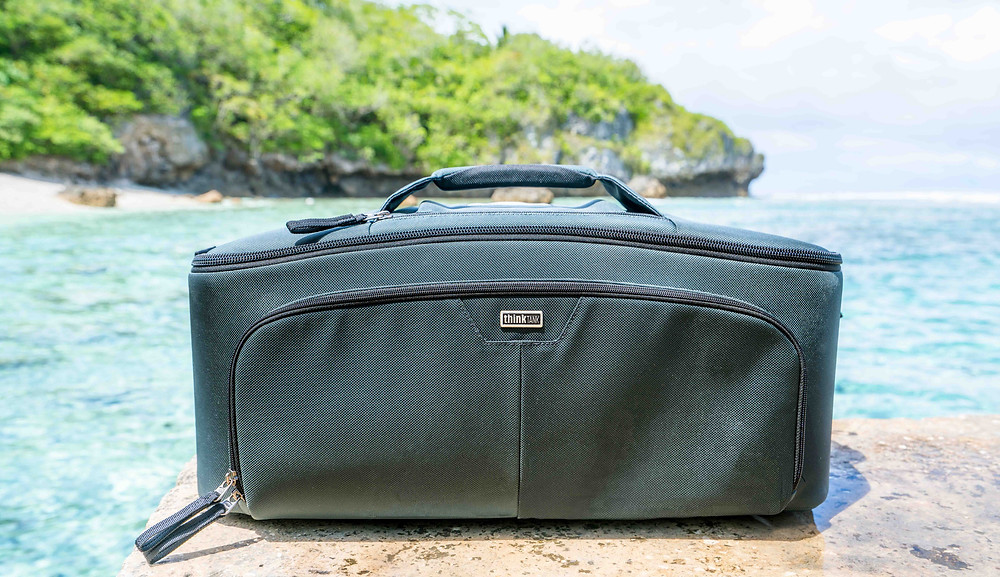 Professional videography gear bag by Think Tank Photo