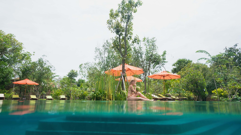 Main pool Temptation resort