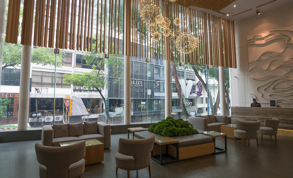 Ansa Hotel Lobby