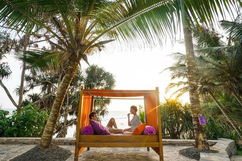 Sun lounger at Underneath the Mango Tree in Sri Lanka