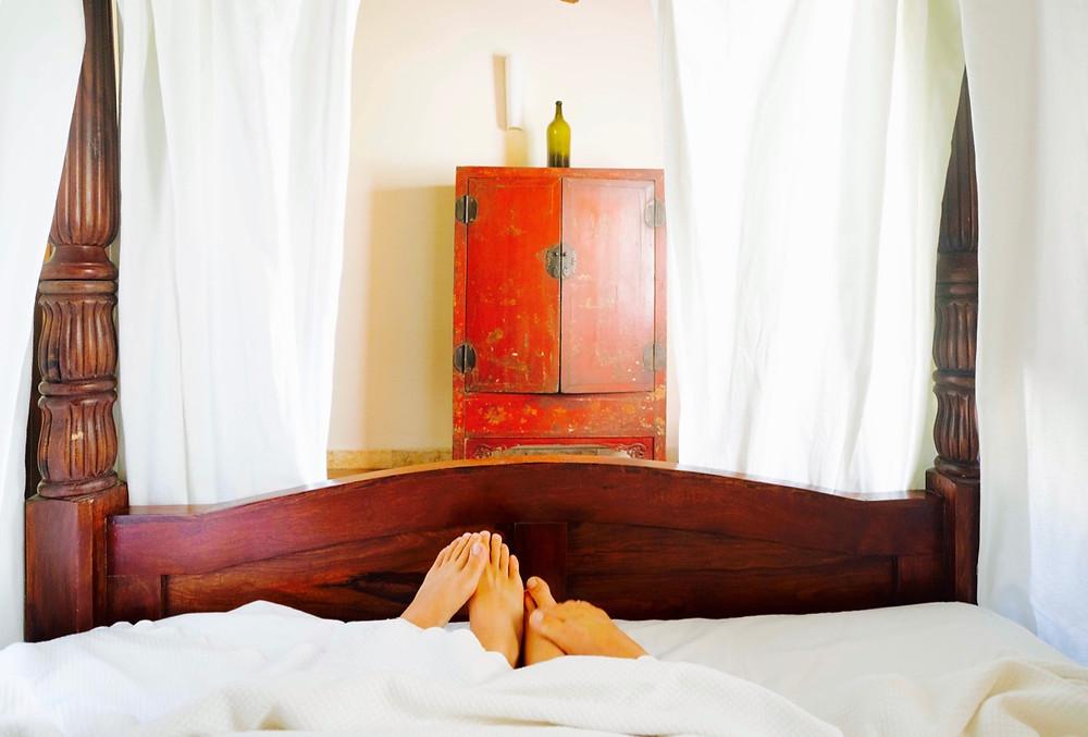 Villa Dei Papiri bedroom