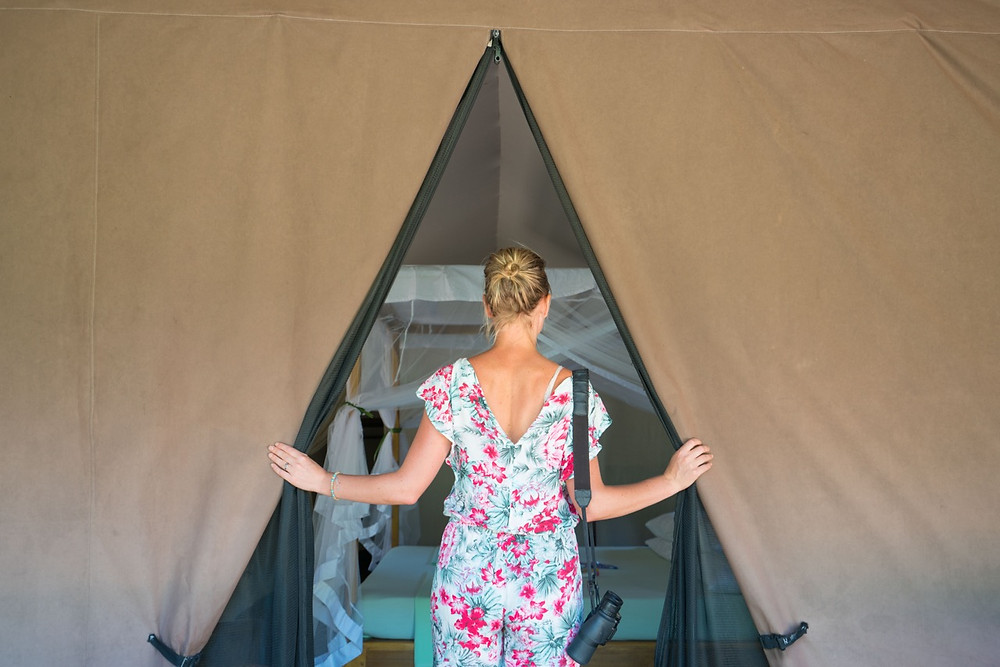 Luxury Glamping Safari Tent Sri Lanka