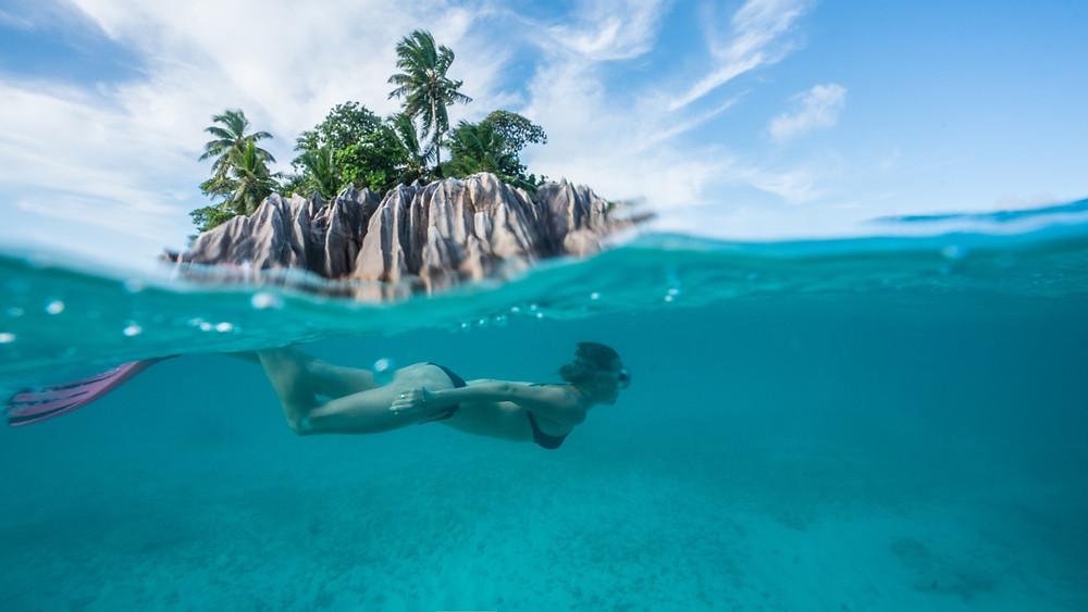 St Pierre island Seychelles
