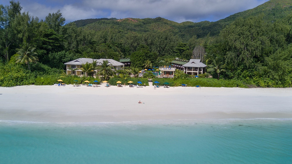 Drone view of Acajou Seychelles