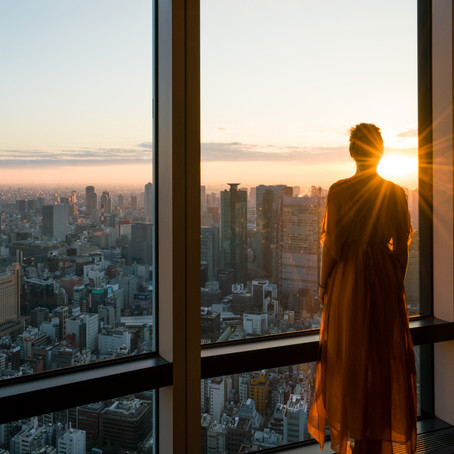 The best views in Tokyo - ANDAZ Hotel