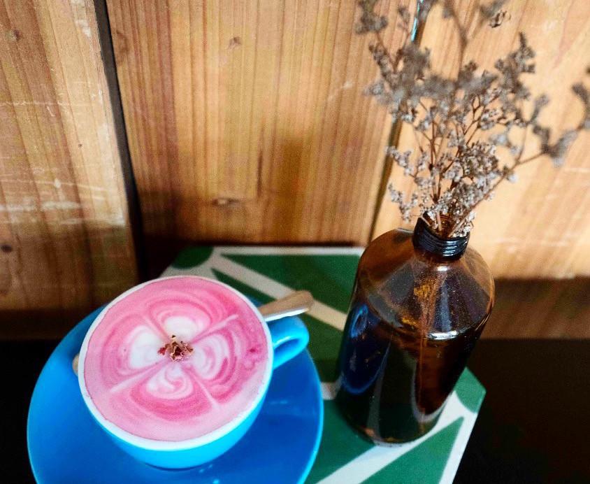 Pink Beetroot Latte Singapore