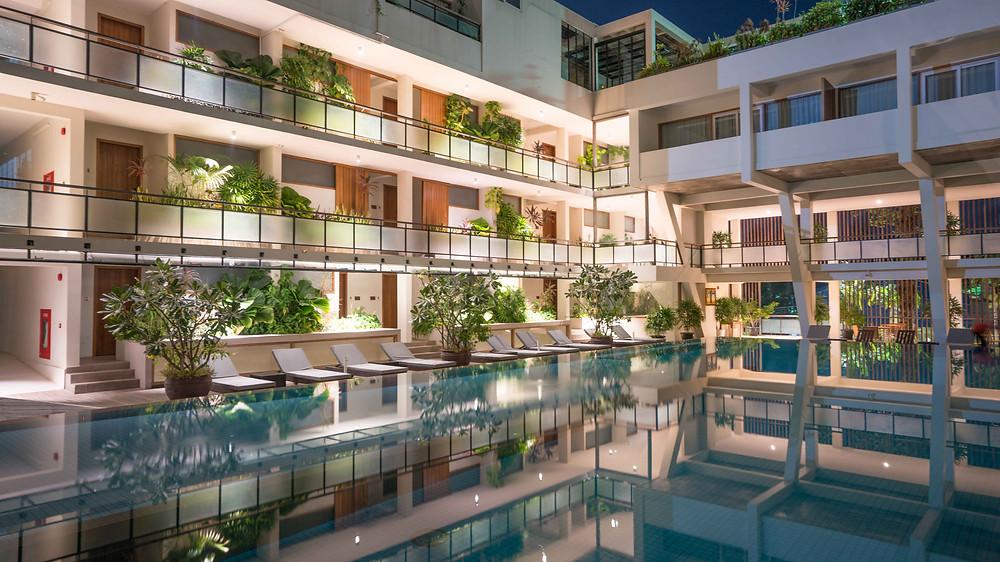 Pool of Hotel Somadevi Angkor Boutique & Resort