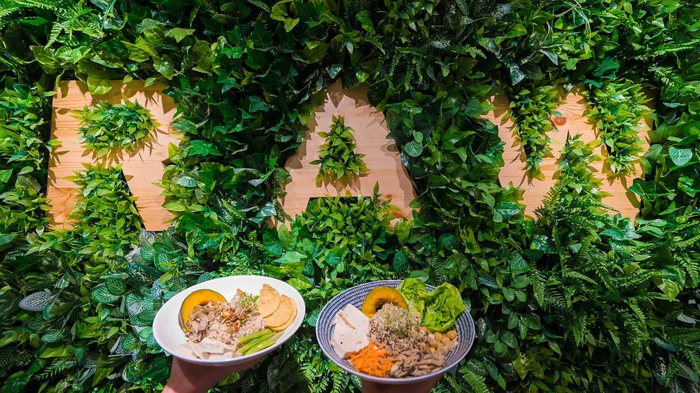 La Juiceria in Kuala Lumpur warm vegetarian bowls