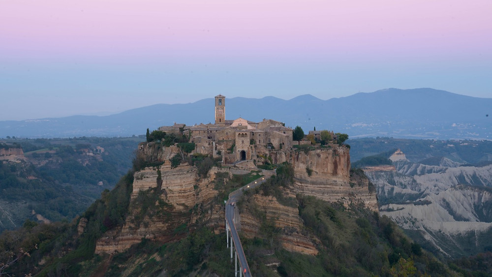 Civita di Bagnoregio in central Italy