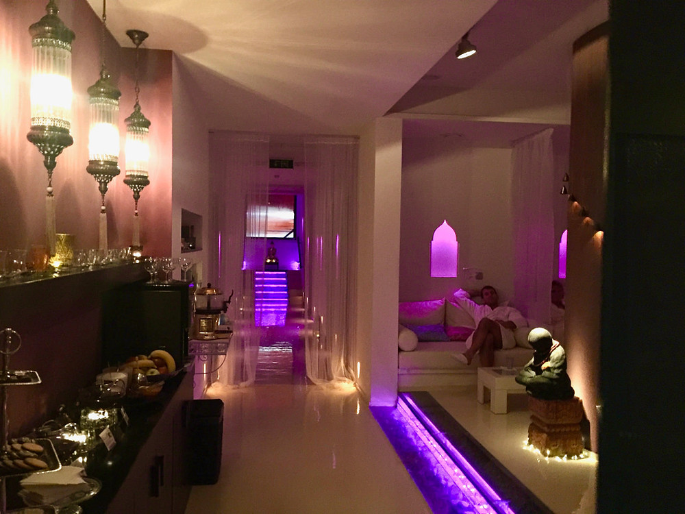 Inside the Mandala Day spa