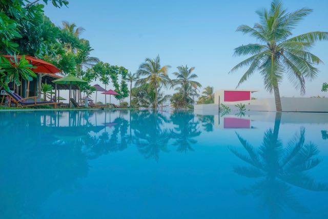 Underneath the Mango Tree Pool Sri Lanka