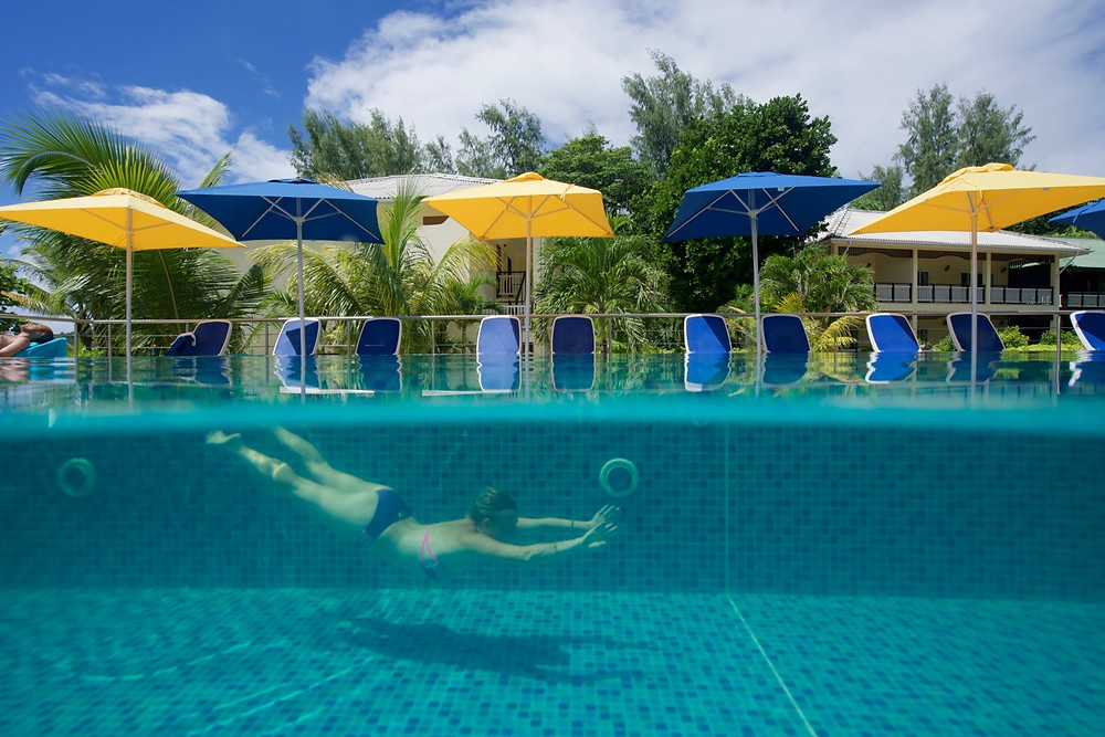 Acajou beach resort swimming pool