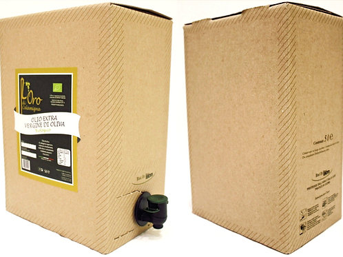 Bag in box olio 5 l
