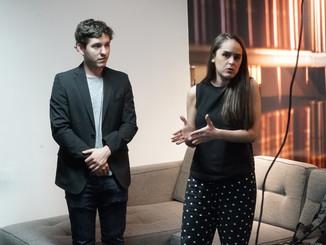 Maritoni Aguirre y Erick García