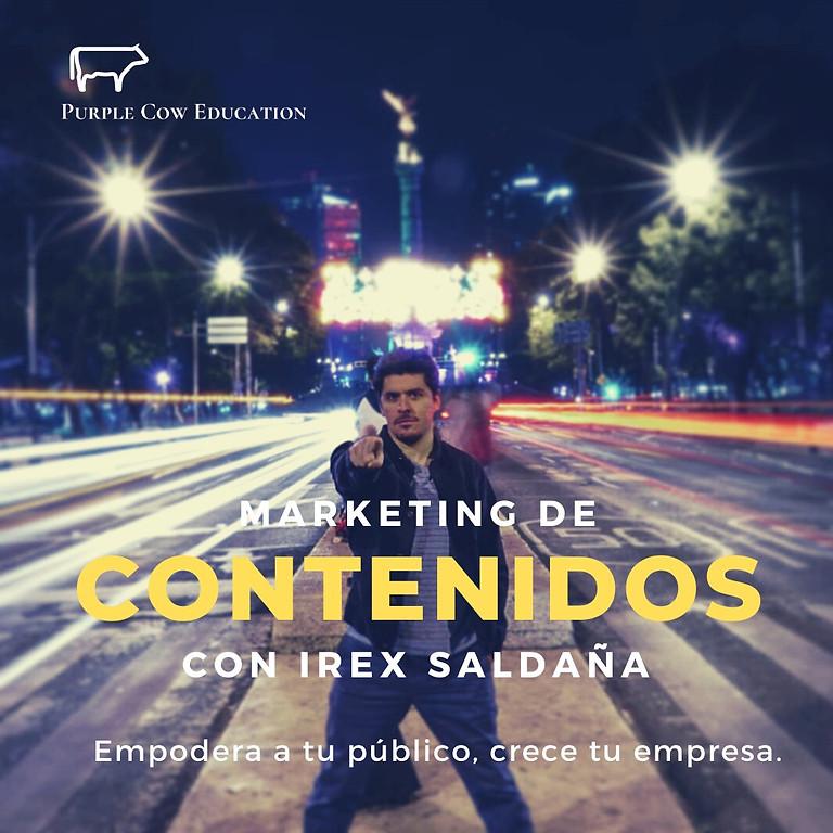 Marketing de contenidos 101: Con Irex Saldaña