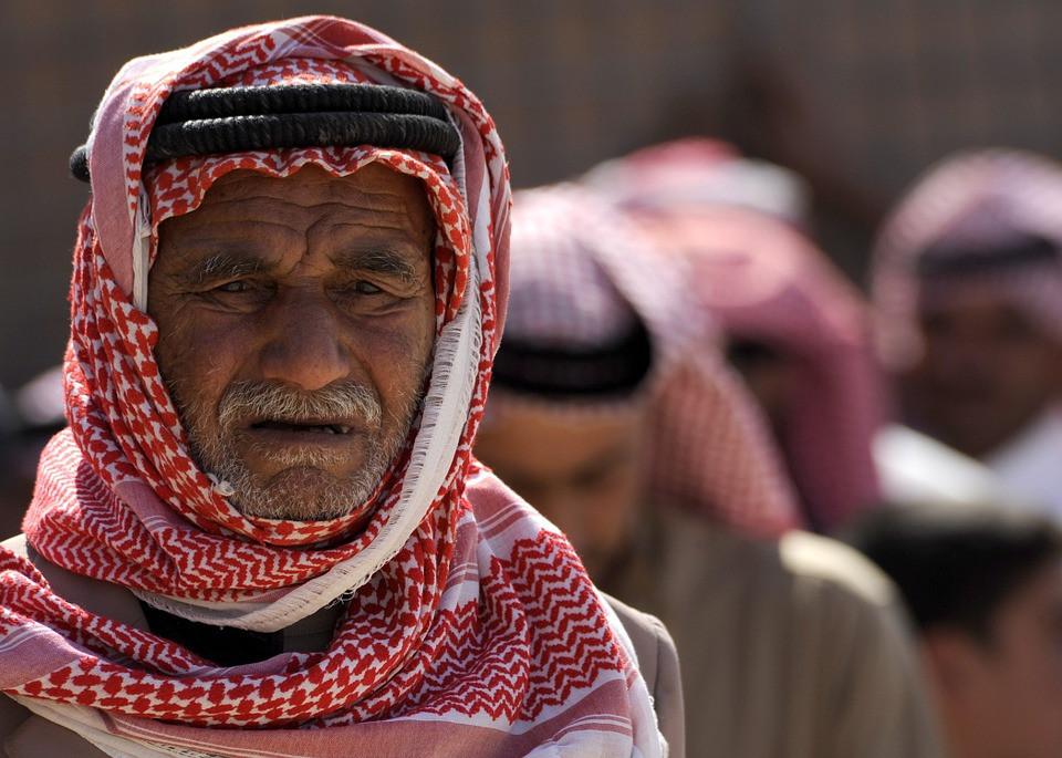 Iraqi Man, weary