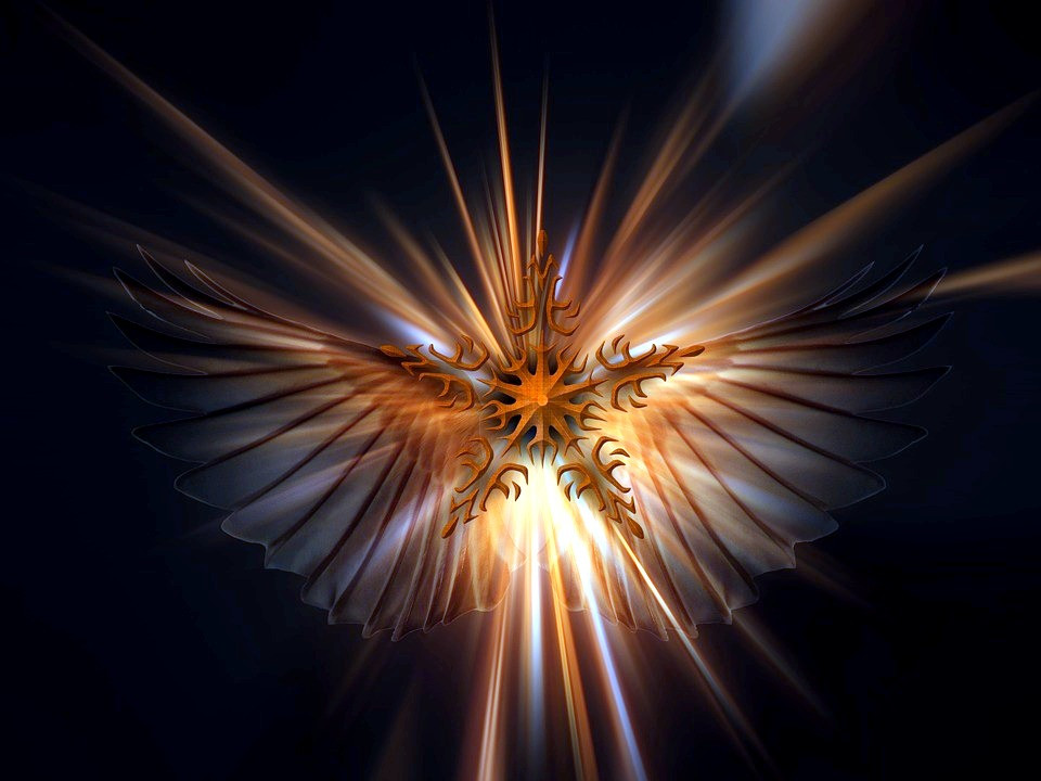 Angel, Jesus, Holy Spirit-Pixabay
