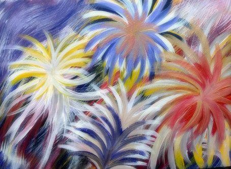 A Painting and a Poem by Twila Jackson