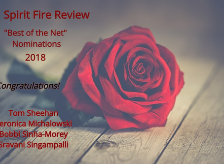 Spirit Fire Review Issue #15 Including Best of the Net Announcements