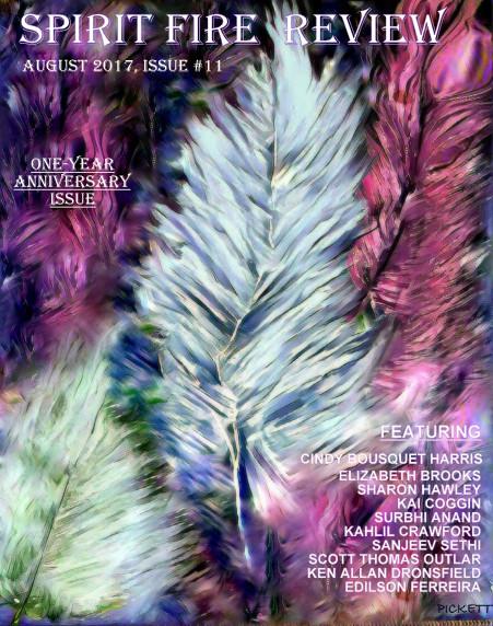 SPIRIT FIRE REVIEW/J. PICKETT ACRYLICS/MIXED