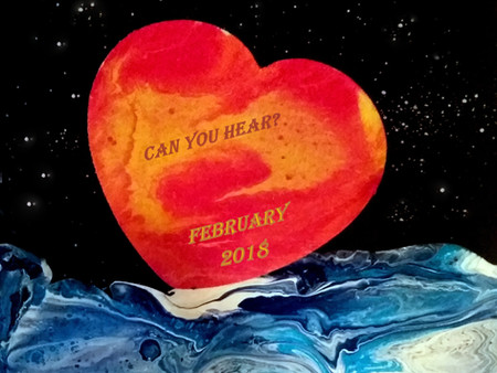 """February 2018 Issue #13 Editorial by Janine Pickett: """"Hearing God's Voice"""""""