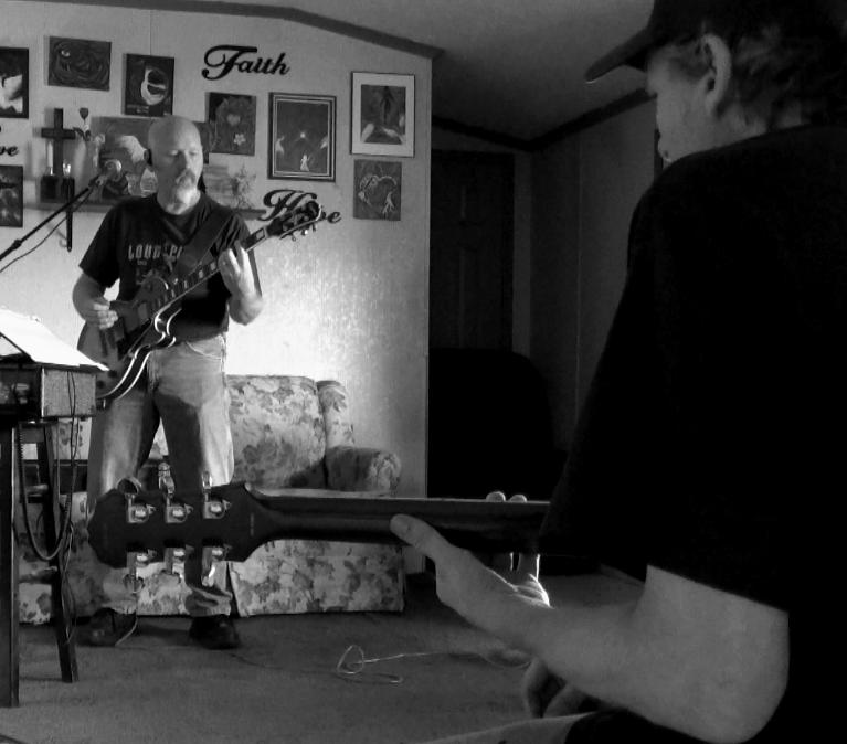 Joe and Carl Practicing
