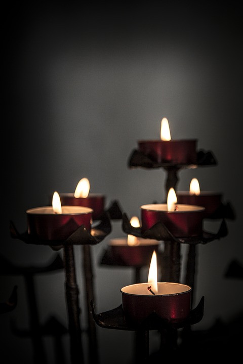 Candles, Church, Pixabay