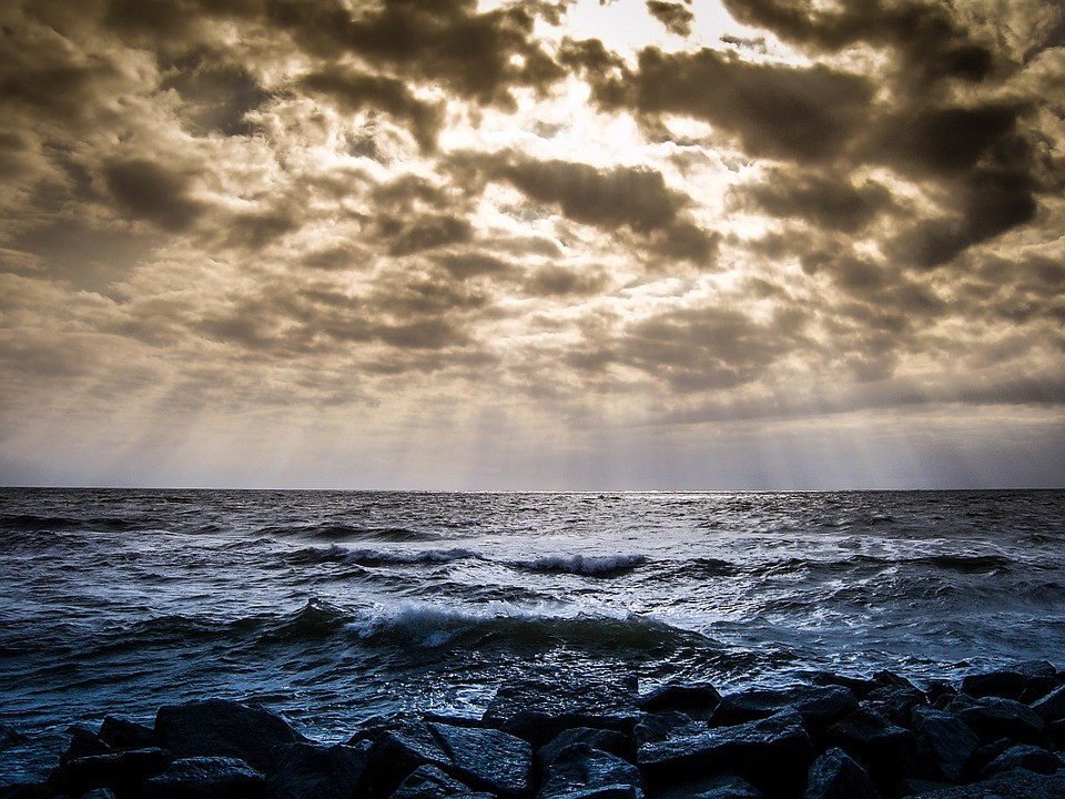 Sea, sky