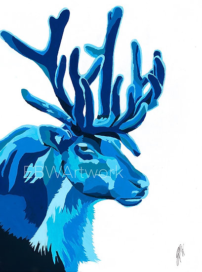 Mr. Blue Caribou