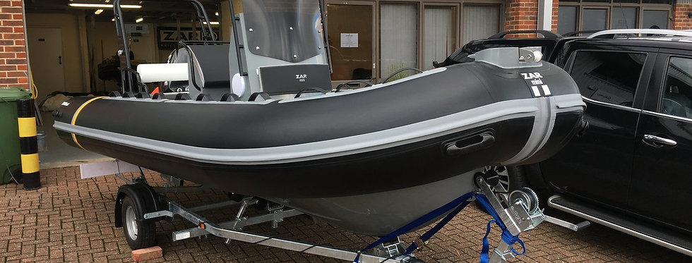 2020 ZAR RIB PRO 16DL 5.0M DELUXE CONSOLE RIB PACKAGE