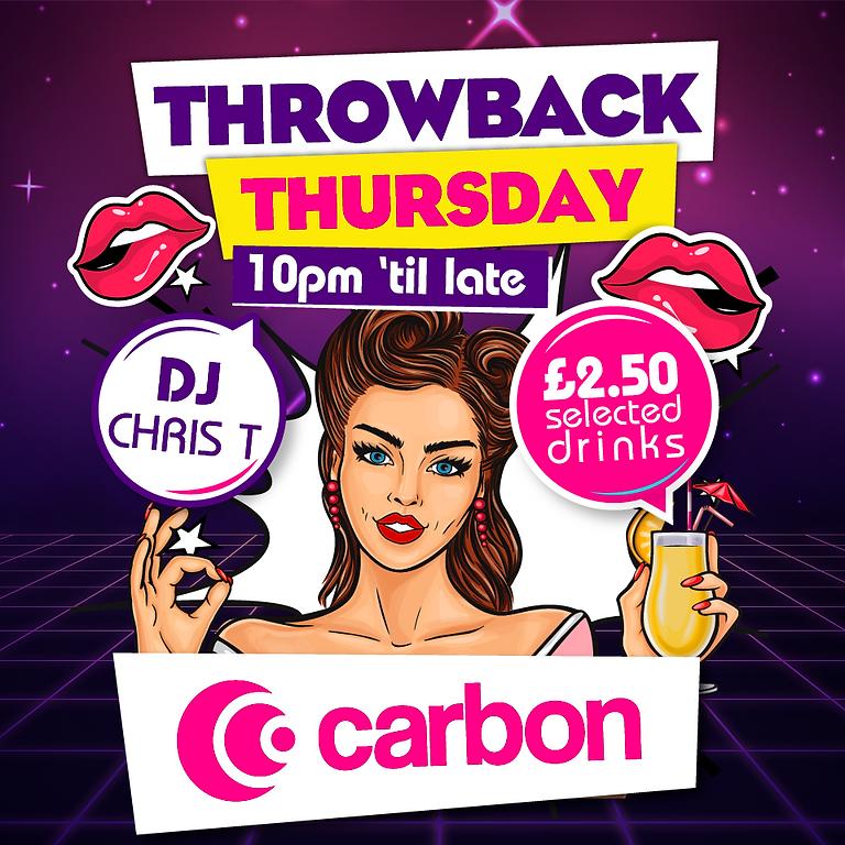 Throwback Thursday - £2.50 Drinks!!