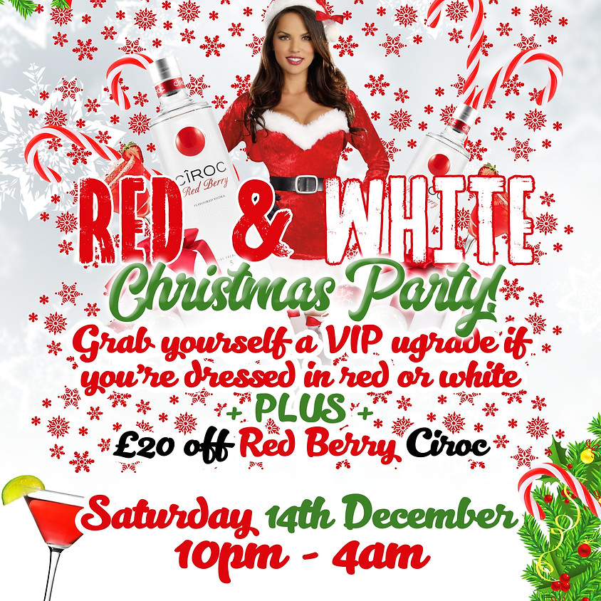 Red & White Christmas Party