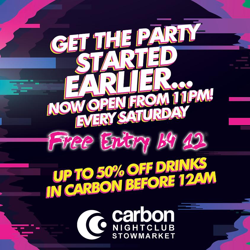 Saturdays at Carbon