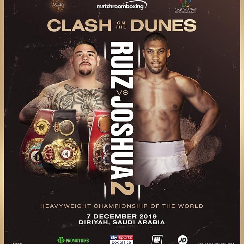 Live Boxing: Ruiz vs Joshua 2